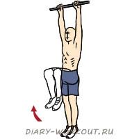 Подъем согнутых в коленях ног - Упражнения